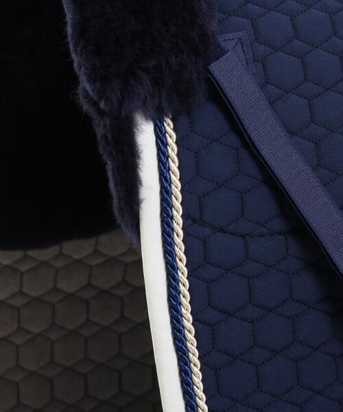blå schabrack dressur L